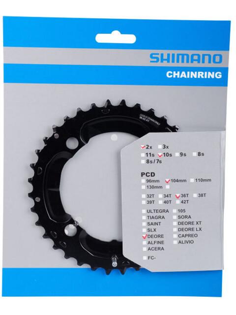Shimano Deore FC-M617 Kettenblatt 10-fach schwarz